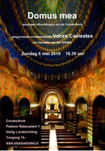 Voces Caelestes, Cenakelkerk